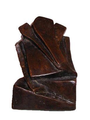 Ganesha by Sheela Chamariya, Art Deco Sculpture   3D, Bronze, Cold Turkey color