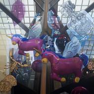 Joydip continuum  60 x 60 inches  oil on canvas  2014