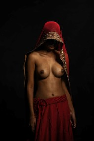 once upon a goddess by peaush vikram panesar, Image Photography, Digital Print on Paper,
