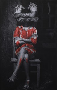 waiting for a miracle by peaush vikram panesar, Image Photography, Mixed Media on Canvas,