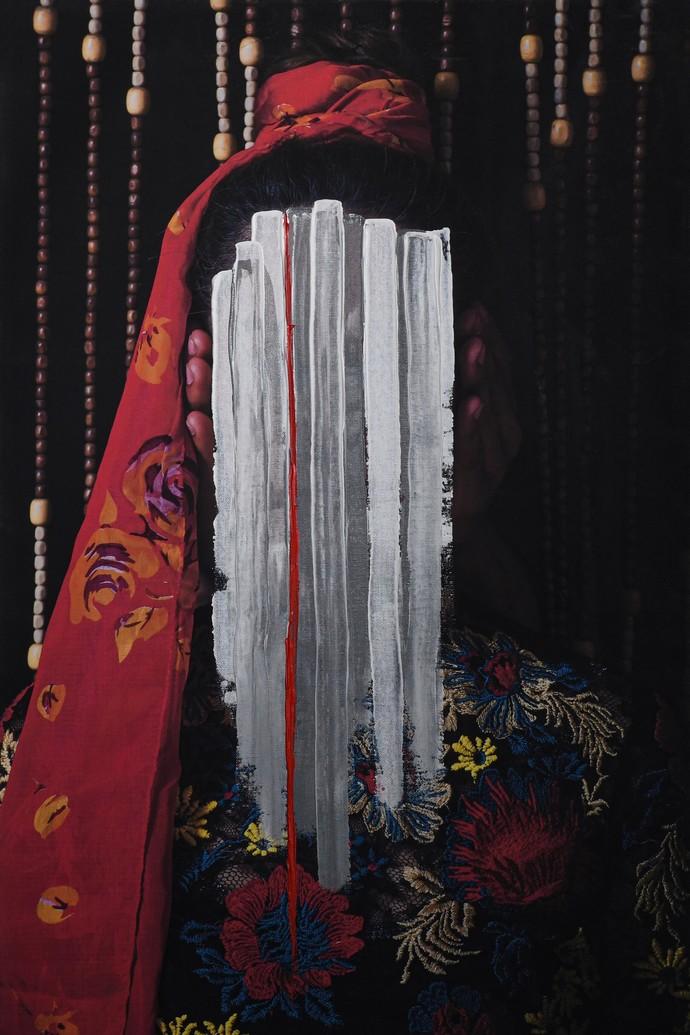 deflowers by peaush vikram panesar, Image Photography, Mixed Media on Canvas,