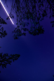 A Bolt in the Blue by Sayandeep Nag, Image Photography, Print on Paper,