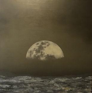 Untitled by Radhika Kacha, Impressionism Painting, Oil on Canvas,