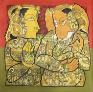 Untitled by Ramesh Gorjala, Traditional Painting, Acrylic on Canvas,