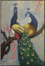 Devotion by Ankita Sancheti, Fantasy Painting, Acrylic on Canvas,