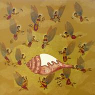 Shalini anand  sukh aur sammridhi  acrylic on canvas  24x24 inch 30k %28 canvas framed%29