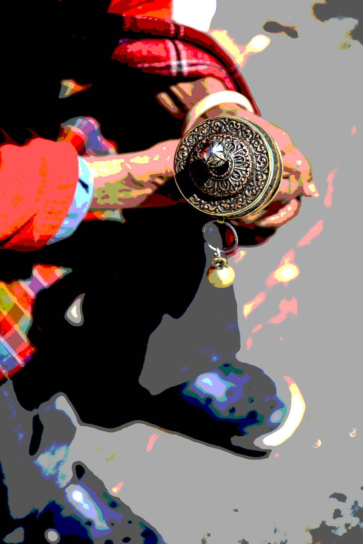 The Chant by Anand C, Image Photography, Print on Paper, Tide color