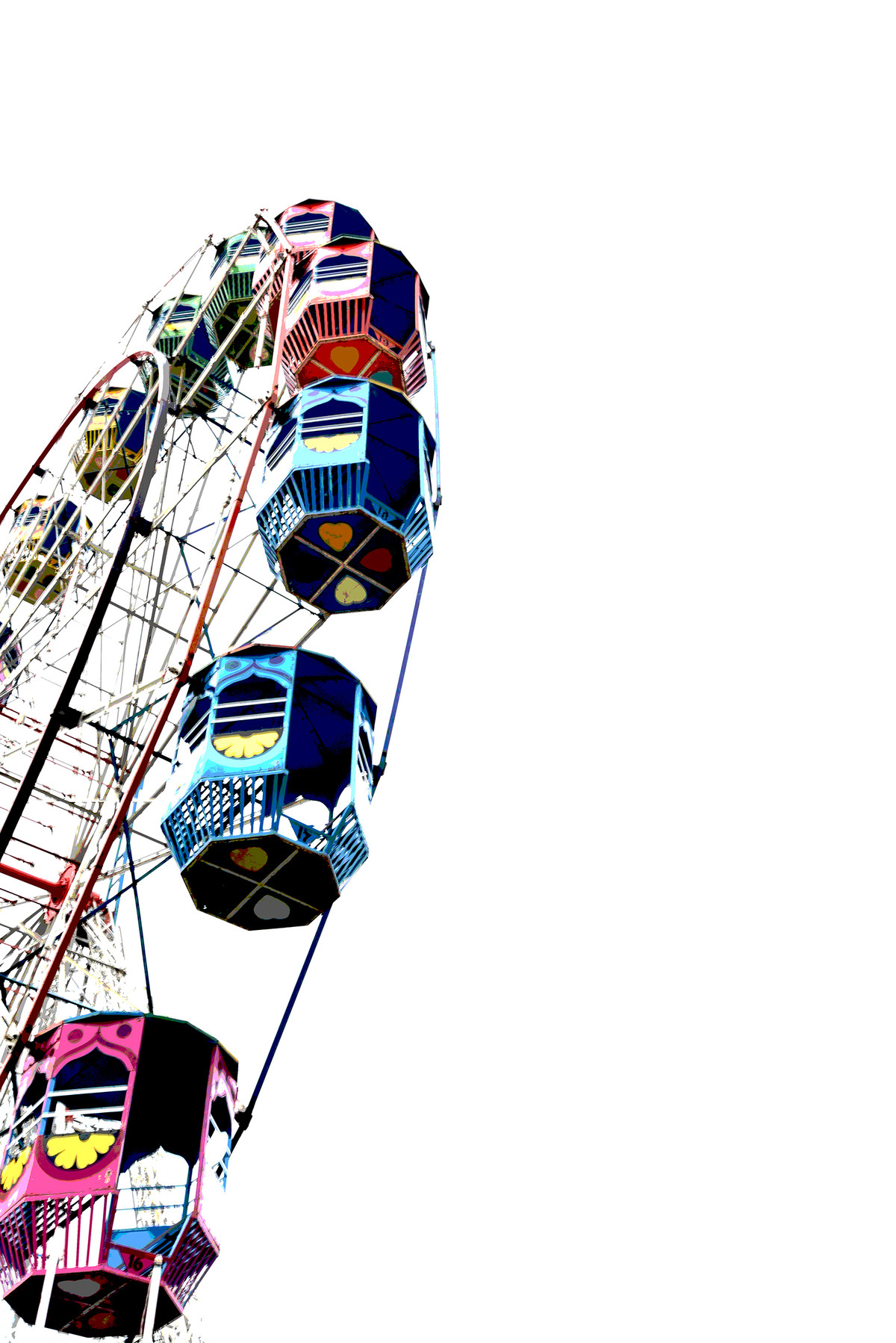 The Wheel of Fun by Anand C, Image Photography, Print on Paper, Quill Gray color