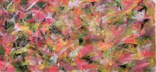 Ocean Fantasy by Seema Kaushik, Abstract Painting, Acrylic on Canvas, Spicy Mix color