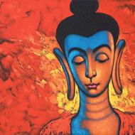 2 beautiful buddha 36x48 7