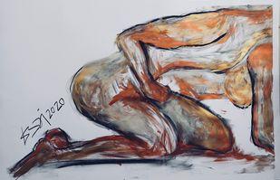 Zen Sex Metallic - 3 Digital Print by Labdhi Shah,Illustration