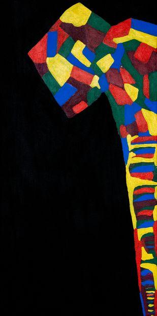 Yanai Digital Print by Jonathan Albert,Cubism