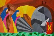 The Third Day Digital Print by Jonathan Albert,Cubism