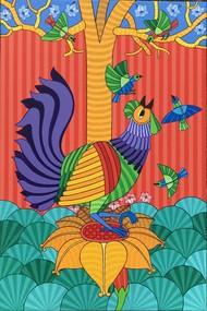 Untitled by Thota Laxminarayana, Expressionism Painting, Acrylic on Canvas, Paradiso color