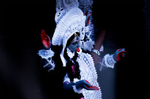 Homecoming Of Goddess Kali by Rupak Bhattacharya, Image Photography, Digital Print on Enhanced Matt, Vulcan color