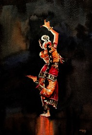 Dancer 8 Digital Print by Mopasang Valath,Realism