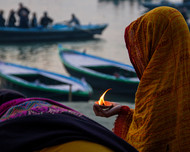 Worship by Anirban Ghosh, Image Photography, Print on Paper, Nobel color
