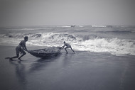 Daily Life by Anirban Ghosh, Image Photography, Print on Paper, Gray color