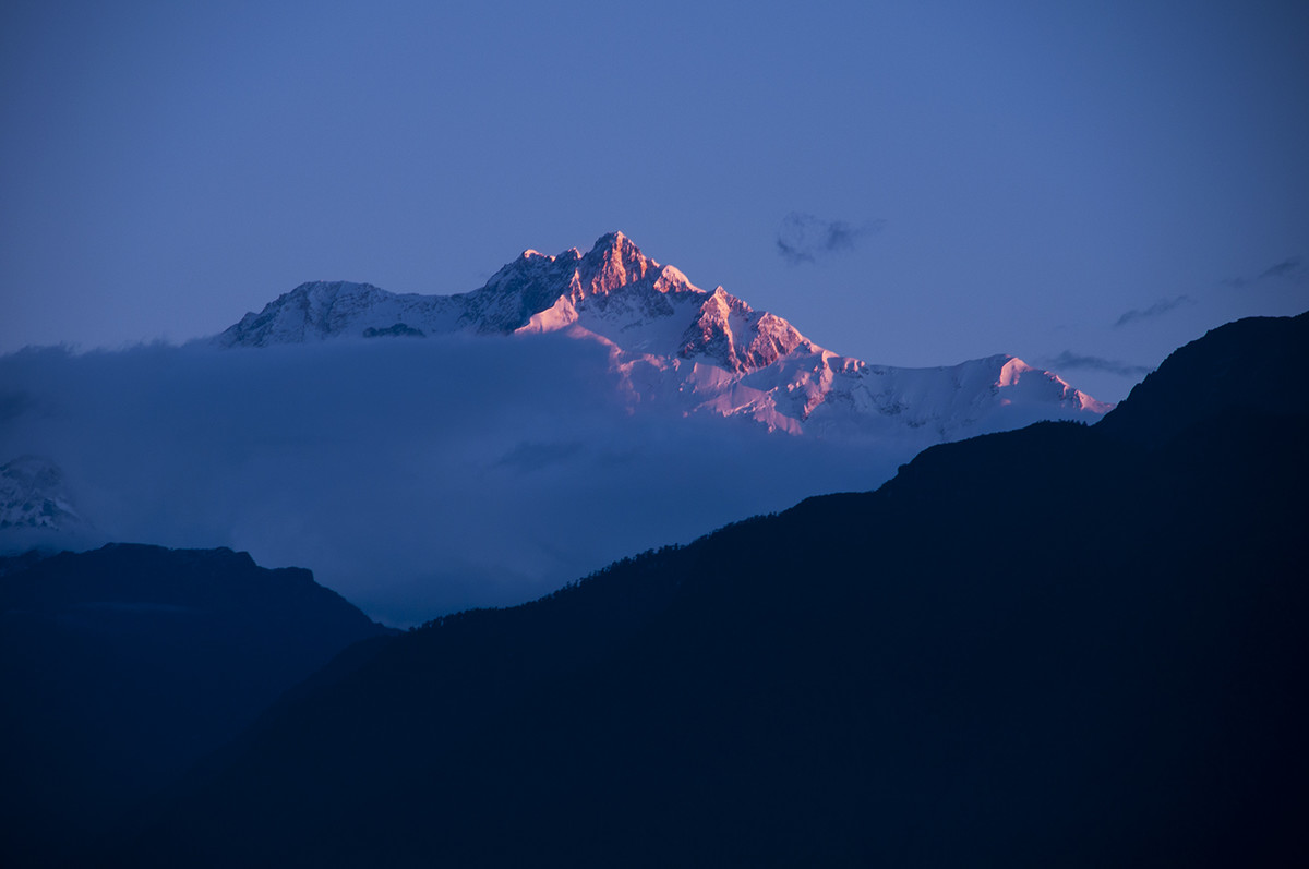 Magnificence by Anirban Ghosh, Image Photography, Digital Print on Archival Paper, Quill Gray color