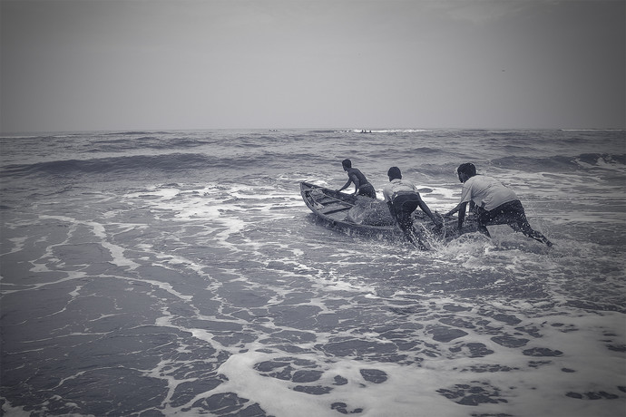 Journey by Anirban Ghosh, Image Photography, Print on Paper, Jumbo color