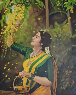 Spring Digital Print by Madhu Singh,Expressionism
