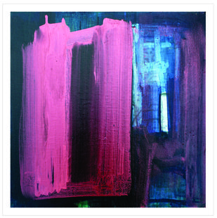 THE PATH OF SALVATION by RAHUL USHAHRA, Abstract Painting, Acrylic on Canvas, Martinique color