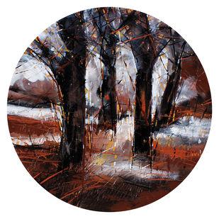 Untitled by Bhaskara Rao Botcha, Expressionism Painting, Acrylic on Canvas, Cold Turkey color