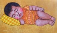 LULLABY 10 Digital Print by Meena Laishram,Expressionism