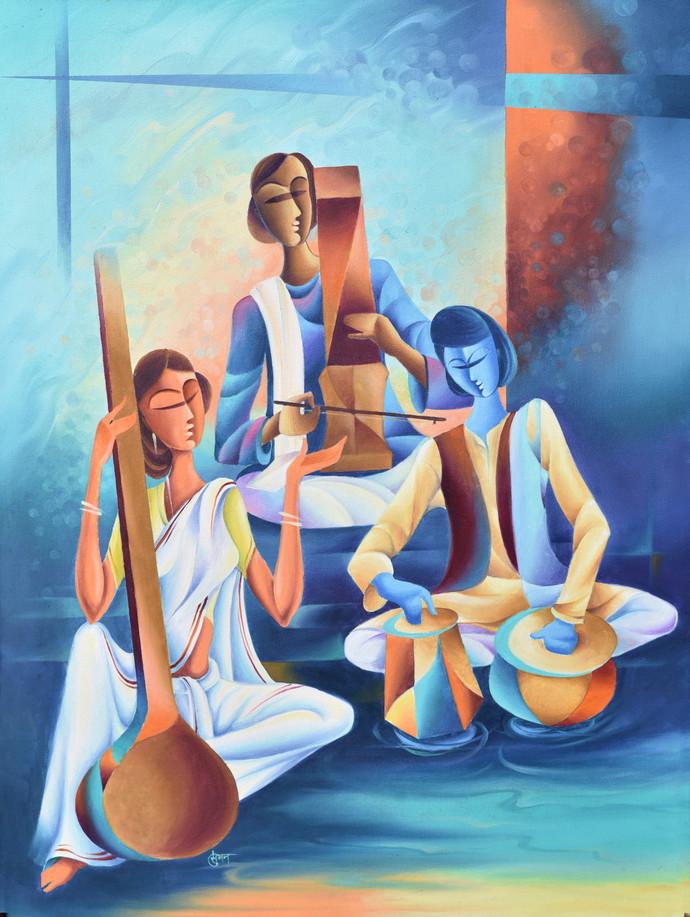 Musicians By Suman Verma