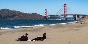 Afternoon at the Beach- SF by SRIJAN NANDAN, Image Photography, Digital Print on Archival Paper,