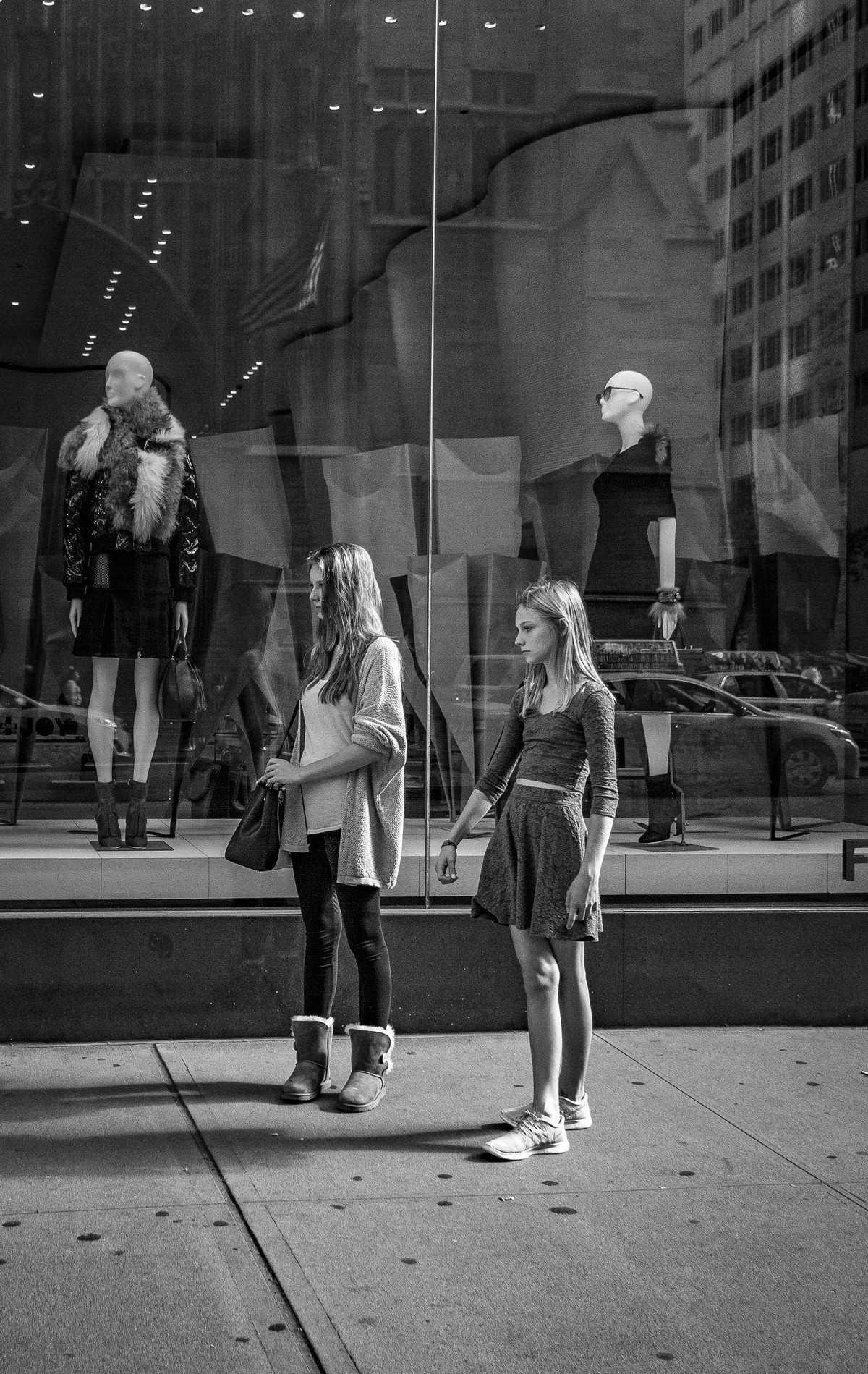 Mannequins- Fifth Avenue, NYC by SRIJAN NANDAN, Image Photography, Digital Print on Archival Paper,
