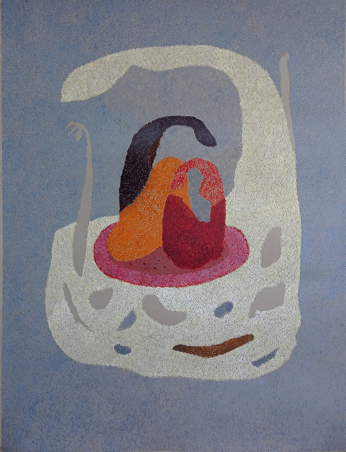 growth by ashwini patil, Abstract Painting, Acrylic on Paper, Raven color