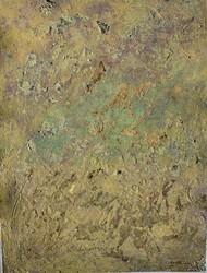 Spiritual Journey of light by Meet Thakkar, Abstract Textile, Acrylic on Canvas, Clay Creek color