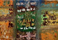 Different colours of life windows by Meet Thakkar, Abstract Painting, Acrylic on Canvas, Judge Gray color