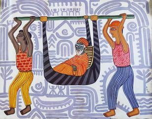 Untitled Digital Print by Nitai Das,Expressionism