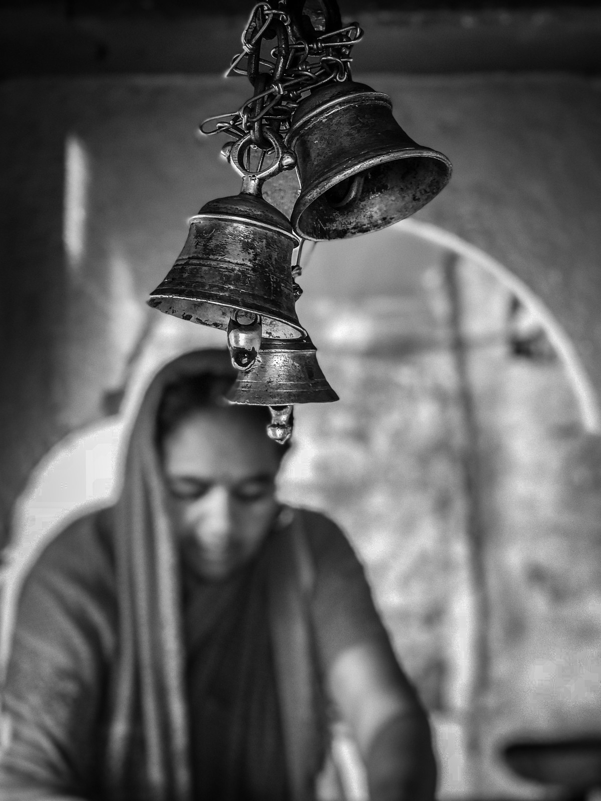 Faith- Varanasi Digital Print by SRIJAN NANDAN,Impressionism