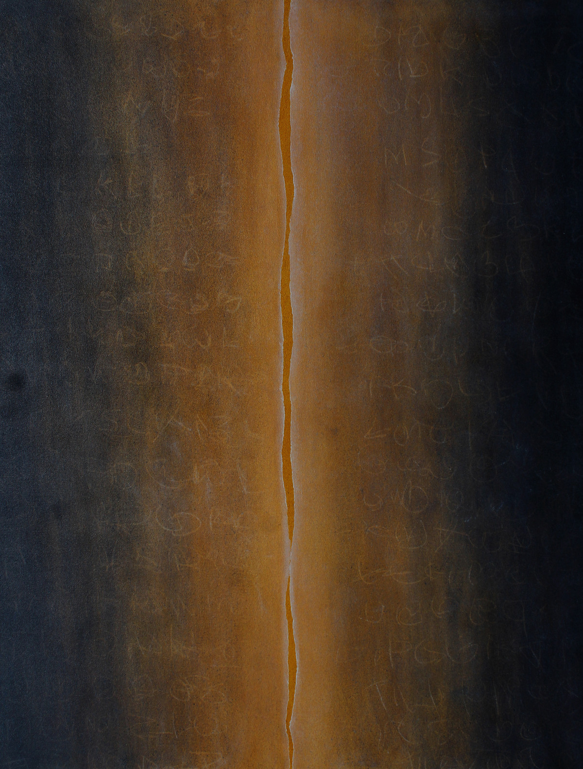 Music of soil IV by pradeep ahirwar, Abstract Painting, Mixed Media on Canvas, Dune color