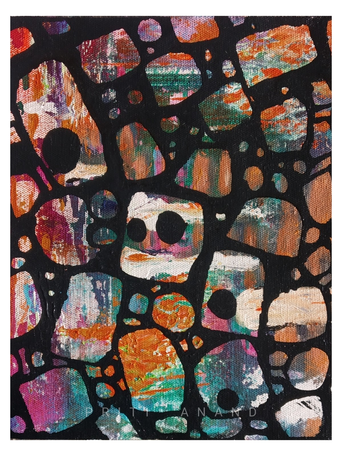 Promised land Digital Print by Priti Anand,Abstract
