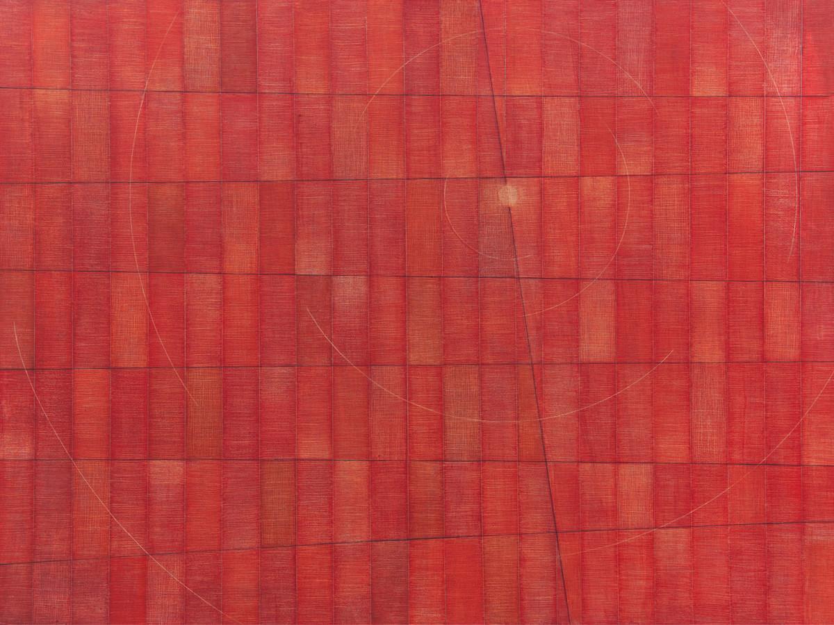 Orange fields by Hanumantha Rao Devulapalli, Expressionism Painting, Acrylic on Canvas, Mojo color