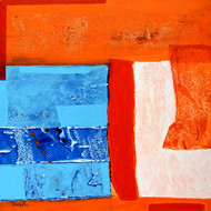 Untitled by Deepali S, Abstract Painting, Acrylic on Canvas, Trinidad color