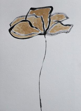 Flowers 78 Digital Print by Santhosh CH,Illustration