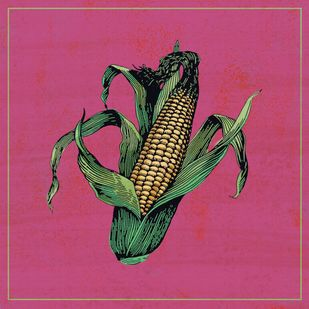 corn Digital Print by The Print Studio,Pop Art