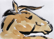 Horse 81 Digital Print by Santhosh CH,Illustration