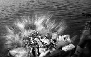 Bisorjon/Immersion by Arka, Digital Photography, Digital Print on Archival Paper, Gray color