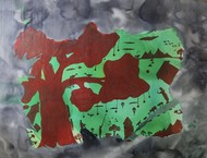 Tree by Mohd.Rasid pathan, Abstract Painting, Acrylic on Canvas, Ferra color