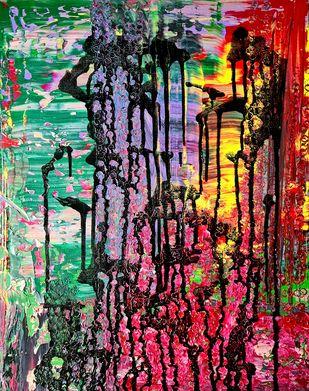 Untitled by Sushmita Lahiri, Painting, Acrylic on Canvas,