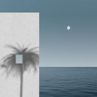 Facade by adnan., Digital Digital Art, Digital Print on Paper, Slate Gray color