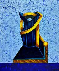 Mystical 1 Digital Print by riddhima sharraf,Abstract, Cubism