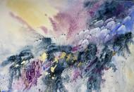 Lady Spring Digital Print by Nisha Sehjpal,Abstract