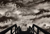 Hellscape - Limited Edition of 20 by Mayurakshi, Digital Digital Art, Giclee Print on Hahnemuhle Paper, Americano color
